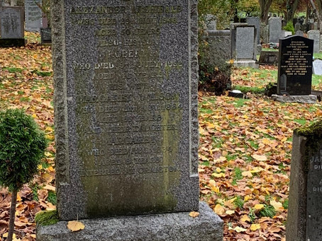 The Restoration of Rangers Graves Project and the Dunfermline Loyal Rangers Supporters Club.