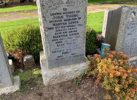 The Restoration of Rangers Graves Project George Young. Can You Help?
