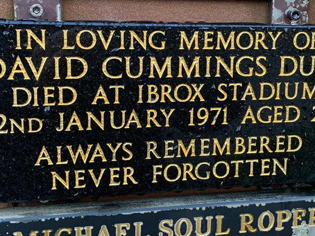 The Restoration of Rangers Graves Project Remembering the 66. David Duff.