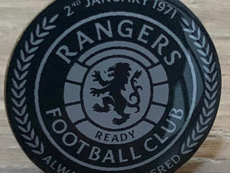 The winner of the 50th Anniversary Badge is Jamie Stewart who has been notified.