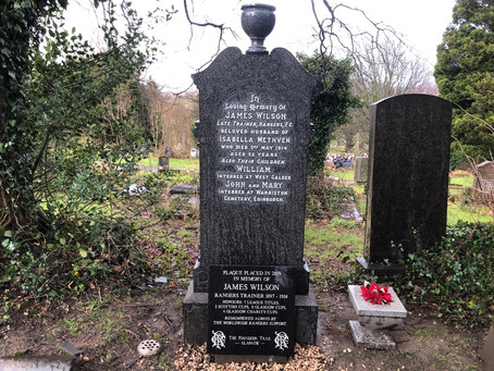 The Restoration of Rangers Graves Project and The Doublet Loyal RSC.
