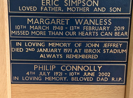 The Restoration of Rangers Graves Project. Remembering the 66-John Jeffrey.