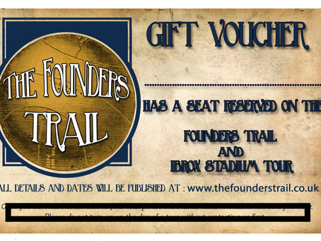 The Founders Trail and Ibrox Stadium Tour Gift Voucher.
