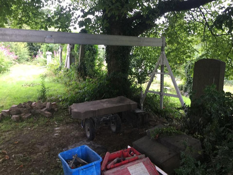 The Restoration of Rangers Graves Project. How You Can Help.