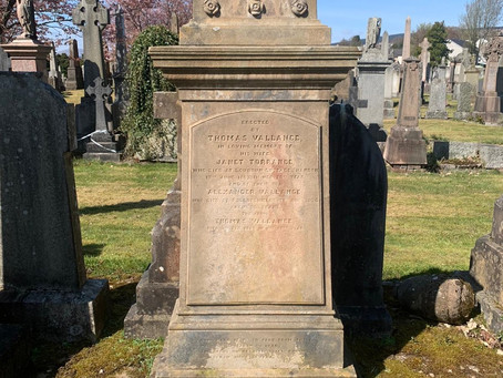 The Restoration of Rangers Graves Project and Alex Vallance.