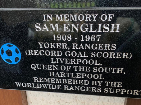 The Restoration of Rangers Graves Project and Sam English.