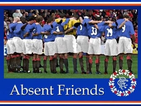 Sponsored cycle from Markinch to Ibrox in aid of The Restoration of Rangers Graves Project.