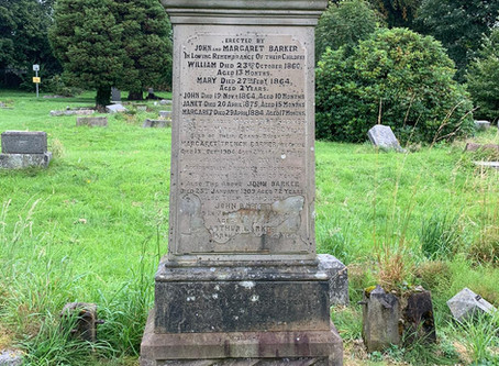A Thank You From The Restoration of Rangers Graves Project.