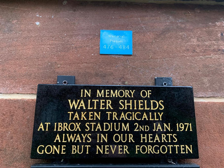 The Restoration of Rangers Graves Project Remembering the 66. Walter Shields.