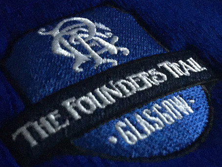 Rangers Founders Trail Merchandise Christmas Orders.