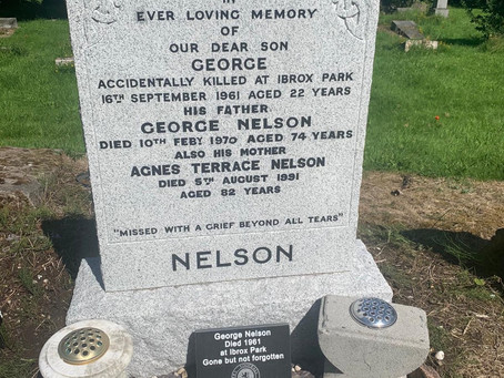 The Restoration of Rangers Graves Project. George Nelson.