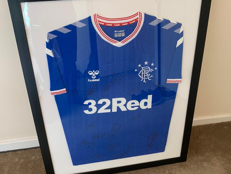 The winner of the signed jersey is a William Aird