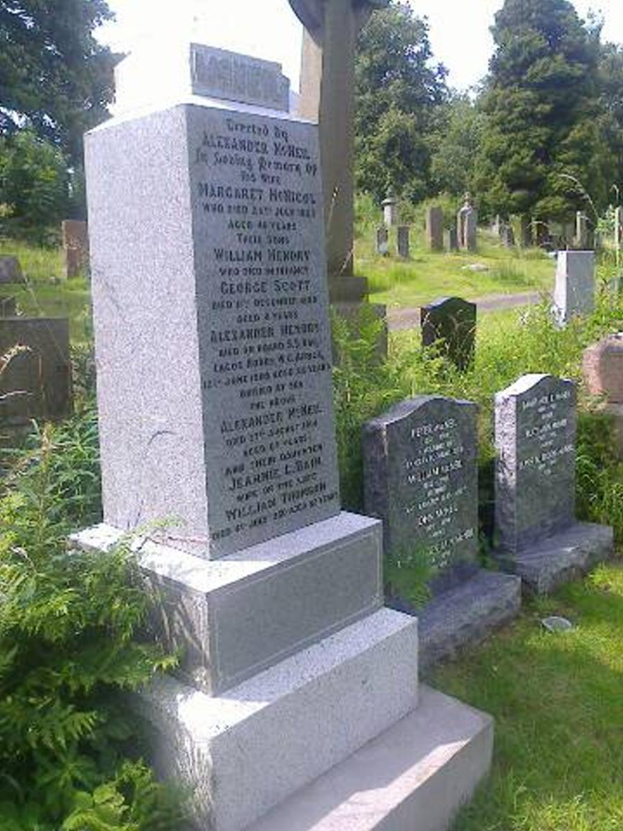 Peter Mcneil grave after