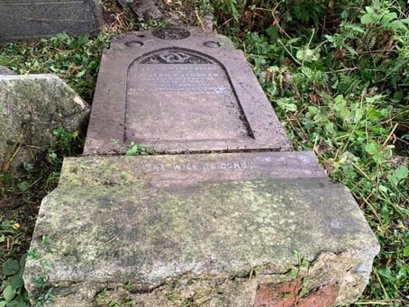 The Restoration of Rangers Graves Project Saturday 22nd August Craigton Cemetery.
