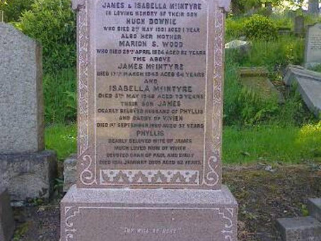The Restoration of Rangers Graves Project. Donation Update.