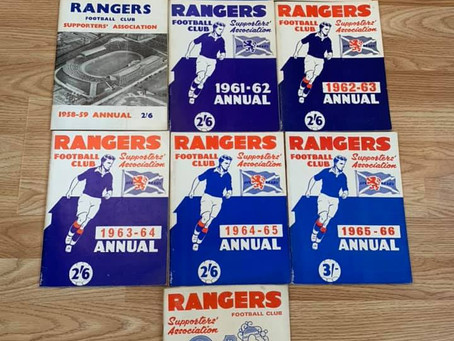 £5 Raffle For Ten RSA Annuals To Help The Restoration Of Rangers Graves Project.