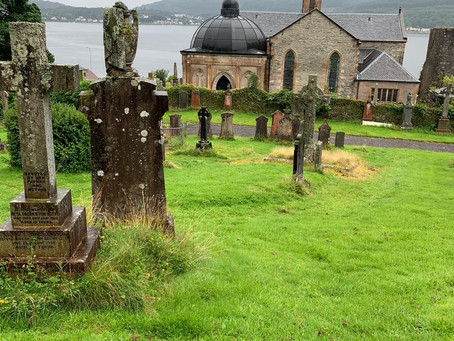 The Restoration of Rangers Graves Project visits Dunoon and Kilmun