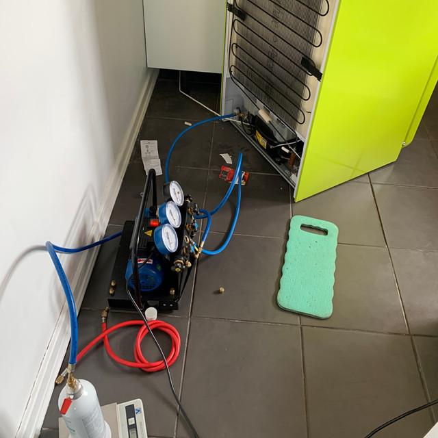 Refrigeration system repair