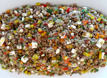 Colorful Lentil Salad
