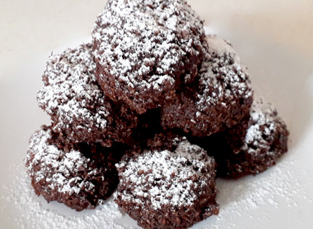 Coconut and Cocoa Cookies
