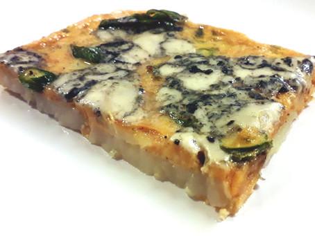 Asparagus and Blue Cheese Frittata