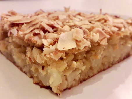 """Pear and Almond """"Cake"""""""