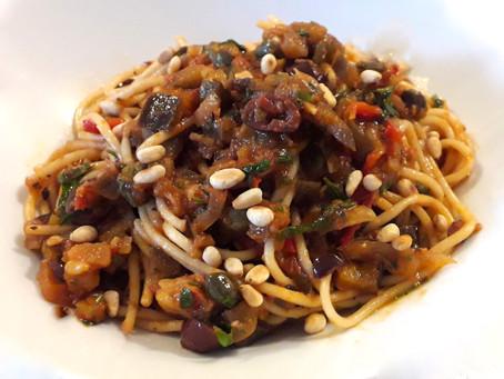 Spaghetti Caponata