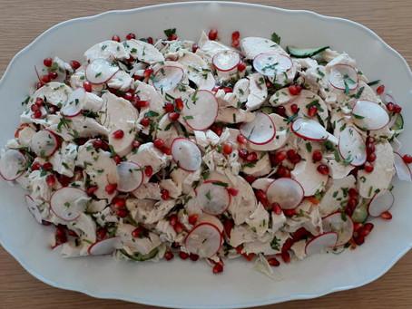 Mingled Vietnamese Chicken Salad