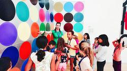 到丹麥國立美術館(Statens Museum for Kunst)進行美學教育