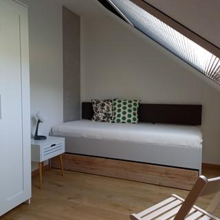 das 3. Schlafzimmer auch als Raum zum Lesen oder entspannen