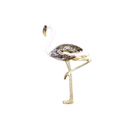 Badge - Flamingo gold