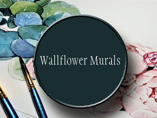 "With Wallflower Murals, Rachel Brisbois and Marlee Theisinger ""To Bloom"" More Public Art"