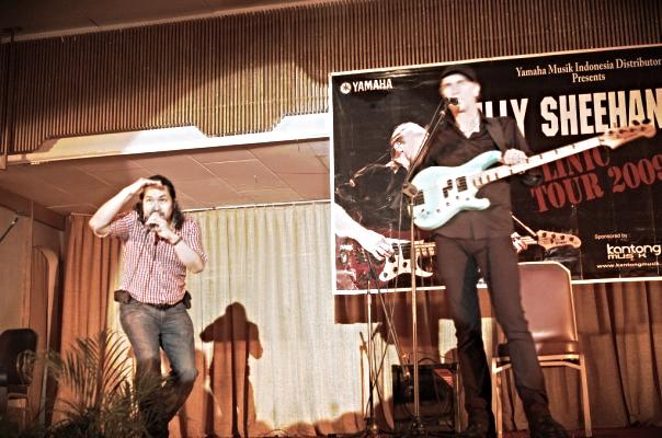 Erucakra Mahameru And Billy Sheehan