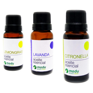 Mix Lemongrass Lavanda Citronella