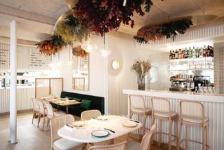Décor végétal - Restaurant Pique-Nique - Agence Marie Deroudilhe