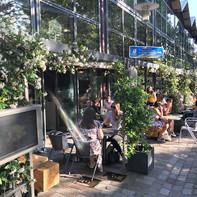 Terrasse fleurie - Restaurant Chai
