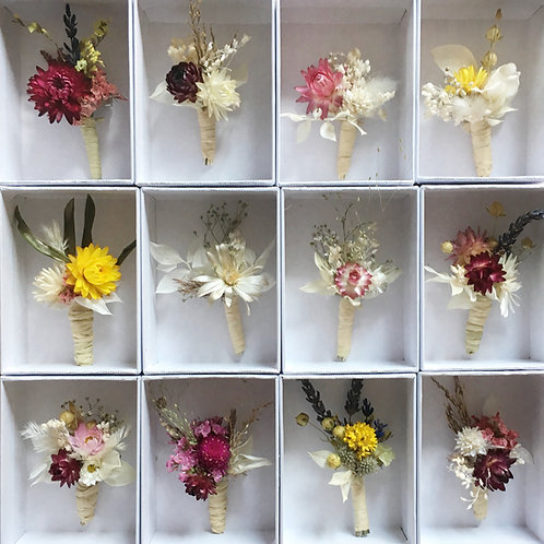 Boutonnière fleurie