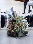 Filling Pieces - Fashion week - DJ booth fleuri  - Paris - Janvier 2020