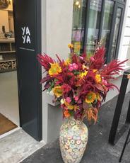 Décoration florale - Yaya Restaurant