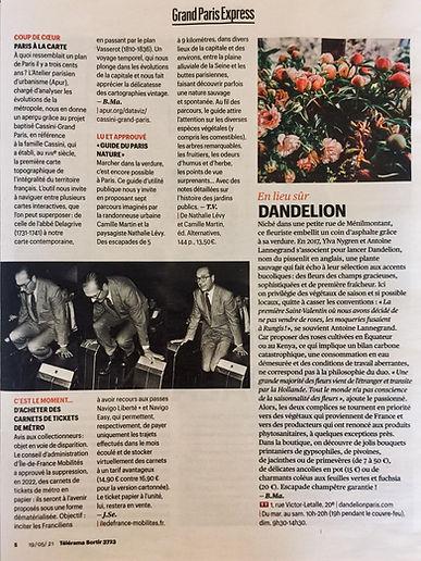 Télérama article DANDELION 2.jpg