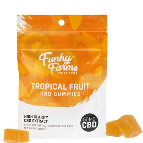 Tropical Fruit CBD Gummies