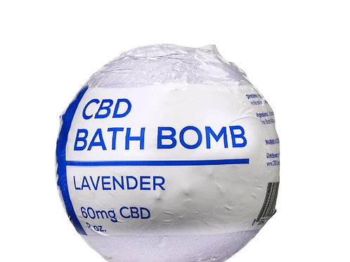CBDLiving Lavender Bath Bomb