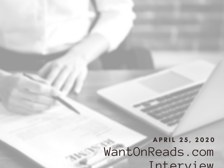 WantOnReads.com Interview