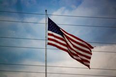Dark American Flag