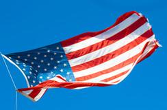 Bright American Flag