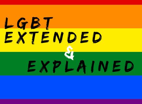 LGBT Extended and Explained