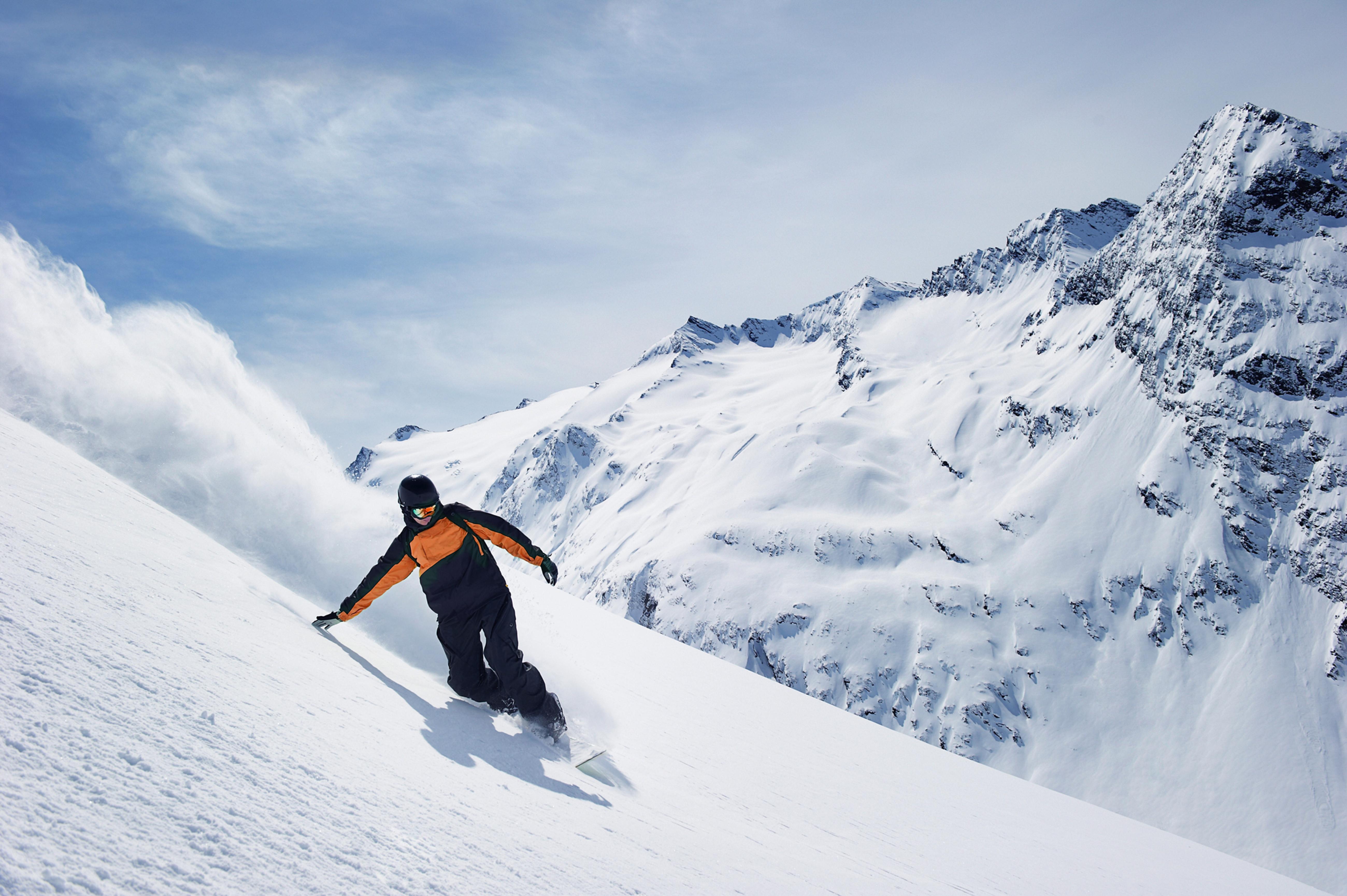 Beginner Snowboarding Lesson Day 1
