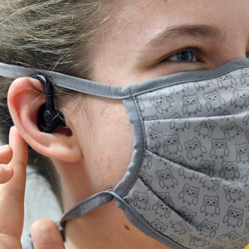 El coronavirus puede alojarse tambien en los oidos.