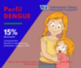 perfil dengue