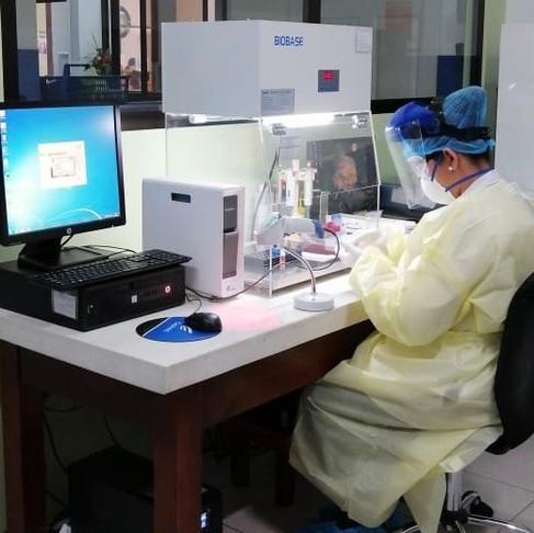 Eosinopenia y elevación de PCR-hs ayuda a clasificar eficazmente a los pacientes sospechosos COVID